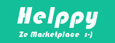 Logo officiel de Helppy, ze marketplace