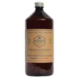 Savon Liquide certifié Bio, parfumé à l'Huile Essentielle de Lavandin 1 Litre