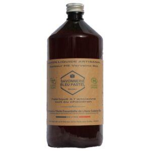 Savon Liquide certifié Bio, parfumé Senteur Verveine 1 Litre